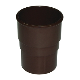 68mm-round-downpipe-connector-brown
