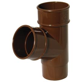 68mm-x-112-5-deg-round-downpipe-branch-brown