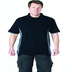 apache-dry-max-polo-shirt-grey-black-xtra-xtra-large