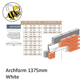 archform-1375mm-white
