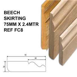 beech-skirting-75mm-x-2-4mtr-ref-fc8