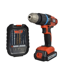 black-decker-18v-li-ion-combi-drill-with-free-16-piece-accessory-set-ref-xms14cordles