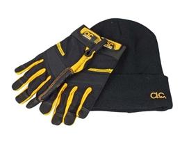 clc-flexgrip-carpenters-gloves-and-beanie-hat-ref-xms18carpglo