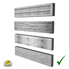 concrete-plain-faced-base-panel-6ft-x-6inch-supreme-ref-gbs150