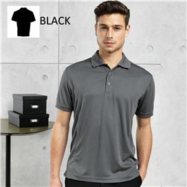 coolchecker-pique-polo-shirt-black-x-large-ref-pr615
