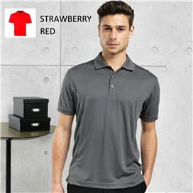 coolchecker-pique-polo-shirt-strawberry-red-x-large-ref-pr615
