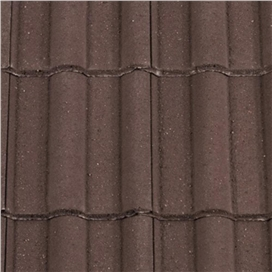 dark-brown-double-roman-half-tile