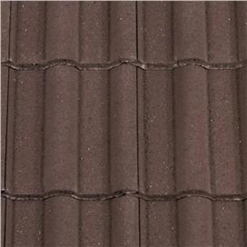 dark-brown-double-roman-half-tile