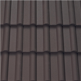 dark-brown-double-roman-roof-tile