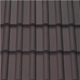 dark-brown-double-roman-roof-tile