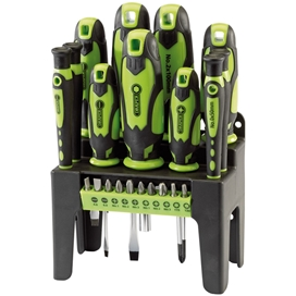 draper-21-piece-screwdriver-set-with-stand-ref-29876