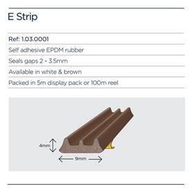 exitex-e-strip-pack-brown-5mtr-roll-10