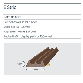 exitex-e-strip-pack-brown-5mtr-roll