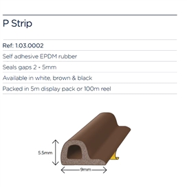 exitex-p-strip-pack-brown-5mtr-roll-
