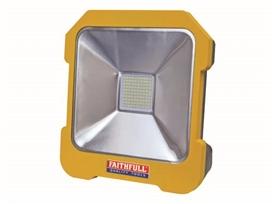 faithfull-110v-20w-led-task-light-with-power-take-off-ref-xms18tsk110v