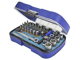 faithfull-42-piece-1-4-socket-&-screwdriver-bit-set-ref-xms18bitsock