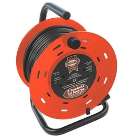 faithfull-50mtr-cable-reel-230v-13amp-ref-fppcr50m