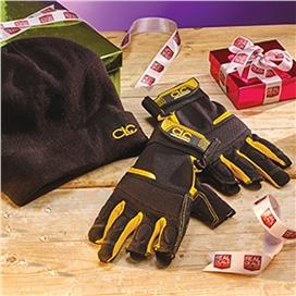 fingerless-work-gloves-and-beanie-hat-ref-xms15flglove