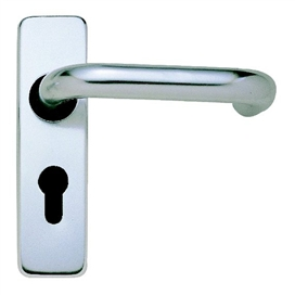 fire-brand-lever-handle-round-bar-on-backplate-saa-47-5-e-profile-ref-fb136