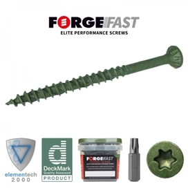 forgefast-green-decking-screw-5-x-100mm-tub-300no-ref-ffds5100gt