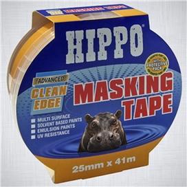 hippo-25mm-clean-edge-masking-tape-41mtr-