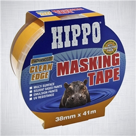hippo-38mm-clean-edge-masking-tape-41mtr-ref-h18441