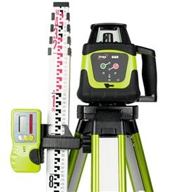 imex-66r-rotating-laser-c-w-tripod-staff-ref-012-i066rs