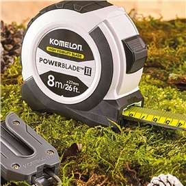 komelon-8m-26ft-white-tape-measure-with-belt-clip-ref-xms17protape