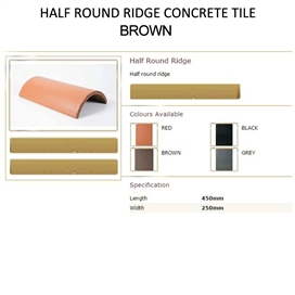 lagan-half-round-ridge-concrete-tile-brown