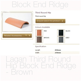 lagan-third-round-hip-block-end-ridge-brown