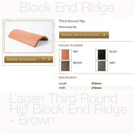 lagan-third-round-hip-block-end-ridge-brown
