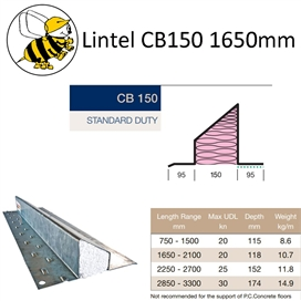 lintel-cb150-1650mm