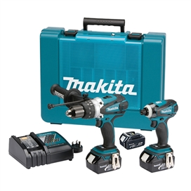 makita-dlx2005mbj-18v-lxt-li-ion-twin-pack-black-edition-combi-drill-impact-driver