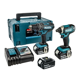 makita-dlx2131jx1-18v-2-piece-kit-inc-combi-drill-and-impact-driver-3-x-3ah-li-ion-batteries-fast-charger-and-makpac-case