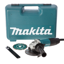 makita-ga4530kd-115mm-angle-grinder-110v-c-w-carry-case-grinding-wheel-and-diamond-disc