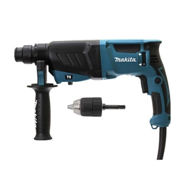 makita-hr2630x7-240v-3-mode-sds-and-rotary-hammer-drill-with-free-chuck-and-adapter-cw-case