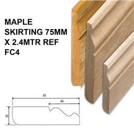 maple-skirting-75mm-x-2-4mtr-ref-fc4
