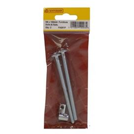 pre-pack-m6-x-100mm-furniture-bolts-nuts-ref-fa251p