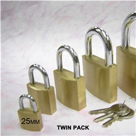 pre-packed-twin-pack-solid-brass-padlock-25mm