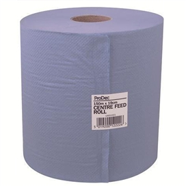 prodec-blue-centrefeed-towel-2ply-roll-150mtr-x-19cm