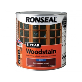 ronseal-trade-5-year-woodstain-satin-deep-mahogany-2-5ltr-ref-38571