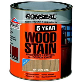 ronseal-trade-5-year-woodstain-satin-natural-oak-750ml-ref-38567