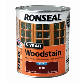 ronseal-trade-5-year-woodstain-satin-teak-750ml-ref-38568