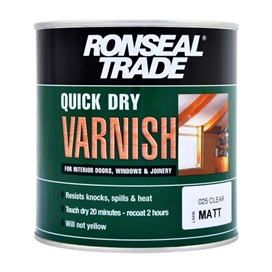 ronseal-trade-quick-dry-interior-matt-varnish-clear-750ml-ref-38554