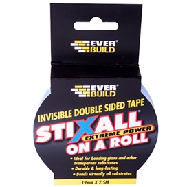 stixall-invisible-double-sided-tape-19mm-x-2-5mtr-roll-ref-2stix19