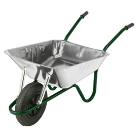 the-contractor-pneumatic-tyre-85ltr-heavy-duty-galvanised-wheelbarrow-c-w-grips-ref-cgvp