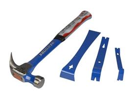 vaughan-560g-20oz-hammer-with-3-piece-bar-set-ref-xms18hambars