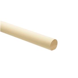 white-round-handrail-3600mmx55mm-ref-rhr3600w