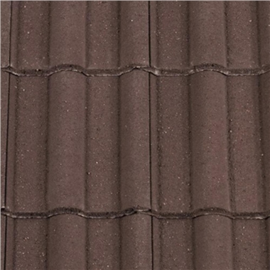 Redland Double Roman Tile Brown
