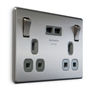 brushed-steel-black-insert-double-switched-socket-with-usb-charger-2-1a-usb-output-fits-25mm-box-ref-nbs22ub-01-1